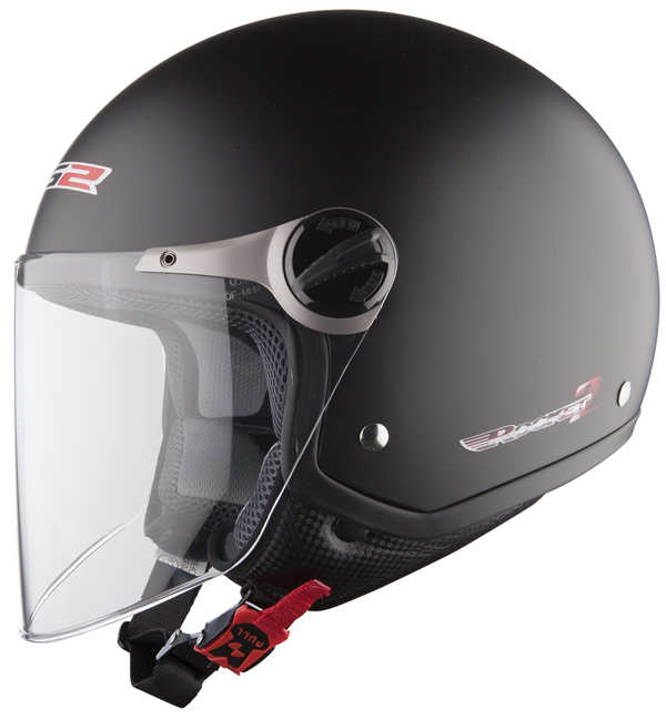 Casco moto jet LS2 OF560 Rocket II Nero Opaco