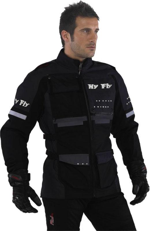 Hy Fly Roma Tex 2 layers jacket Black