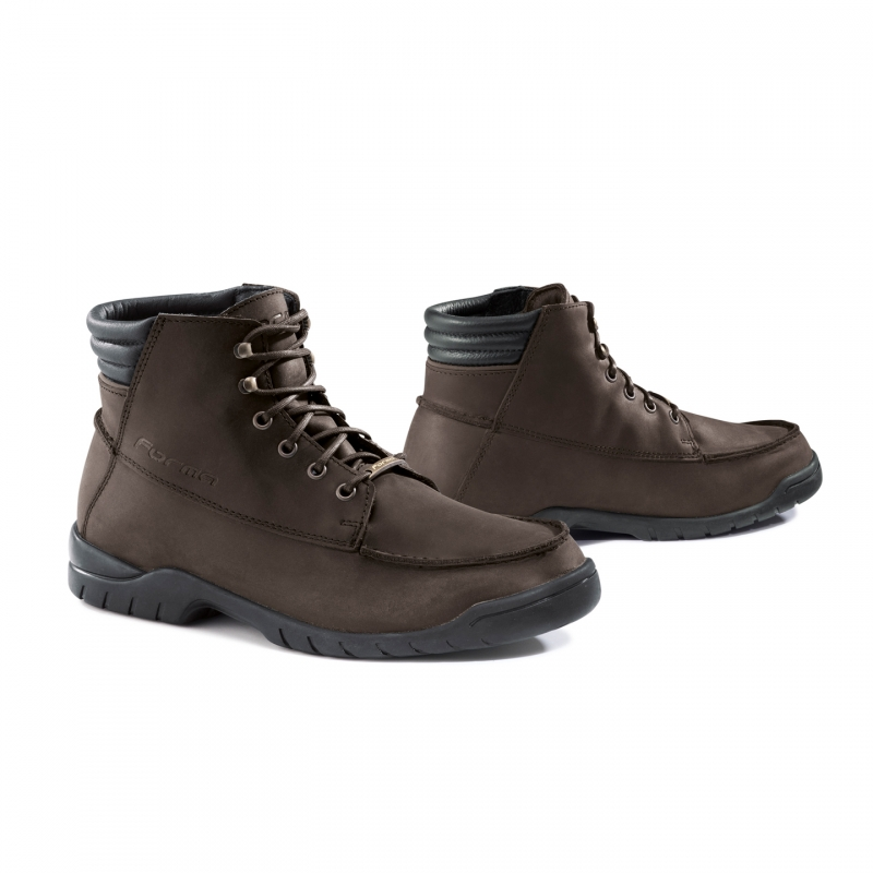 Motorcycle leather shoes Freeride Forma Brown