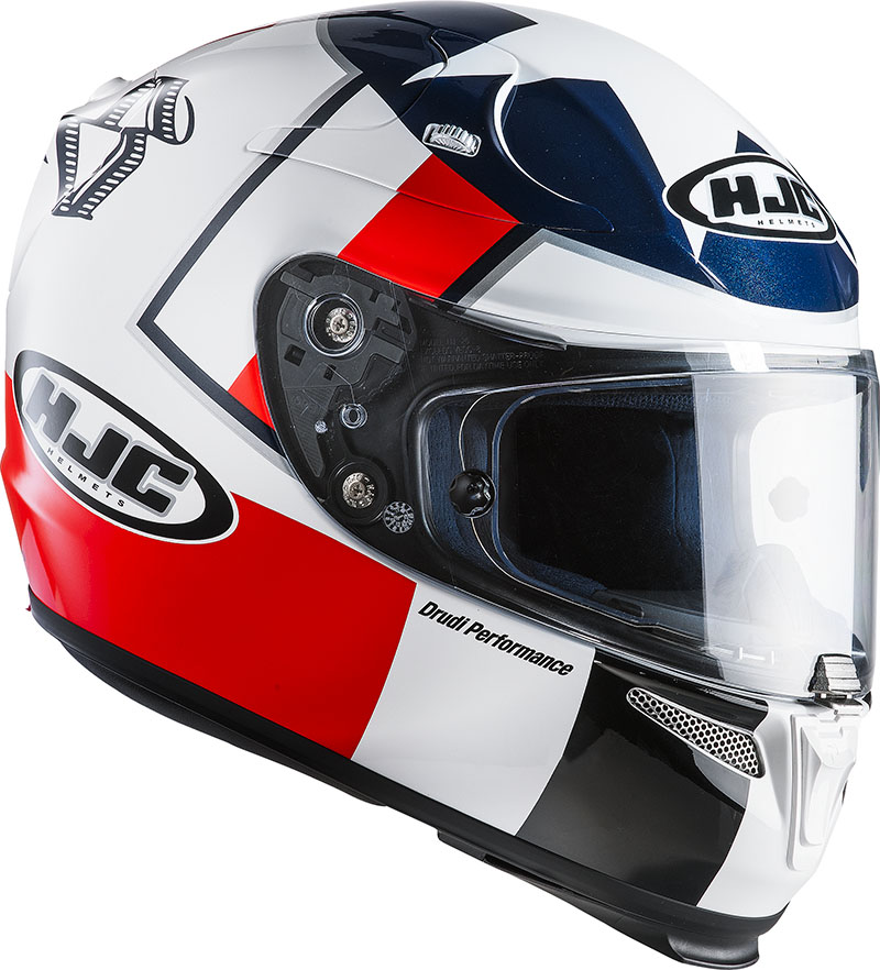 Full face helmet HJC RPHA 10 Plus Ben Spies MC1