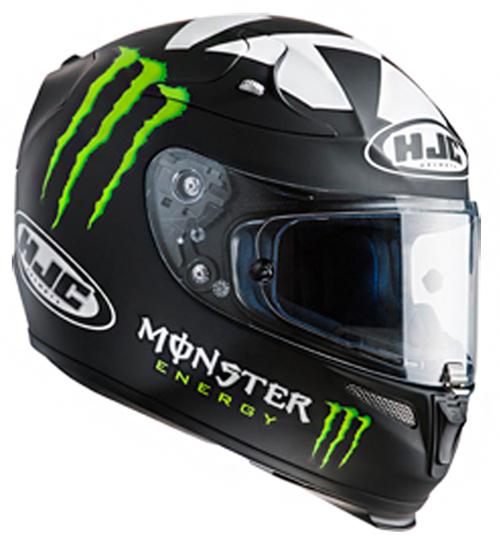 Full face helmet HJC RPHA 10 Plus II Ben Spies Rep MC5F