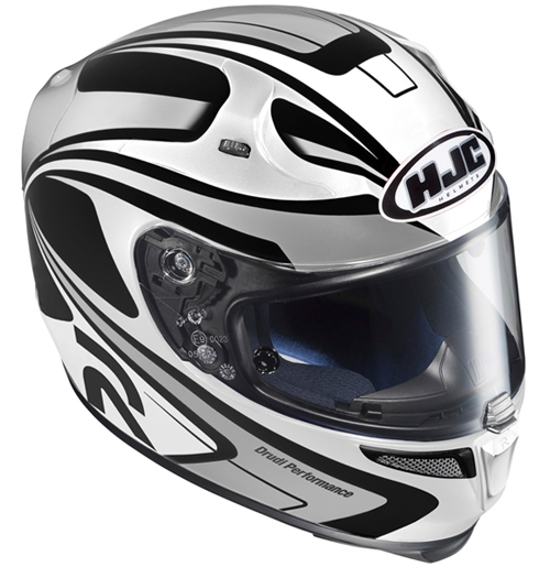 Full face helmet HJC RPHA 10 Plus Zappy MC10