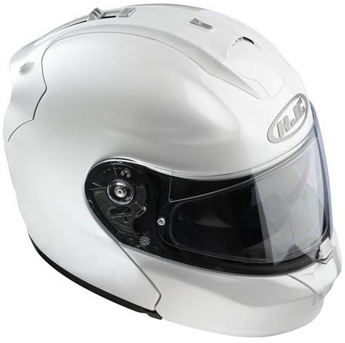 Casco moto modulare HJC RPHA MAX Bianco Perla
