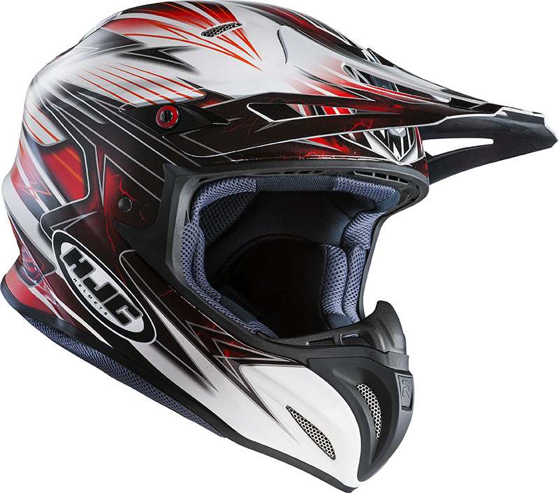 Cross helmet HJC RPHA X Silverbolt MC1