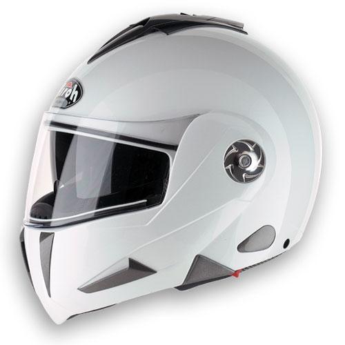 Casco moto Airoh RR801 Color bianco lucido doppia omologazio