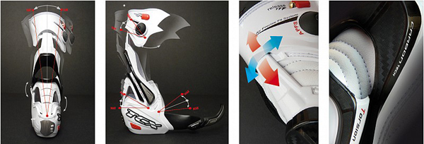 TCX R-S2 racing boots white