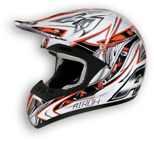 Airoh Runner Spartan off-road helmet orange