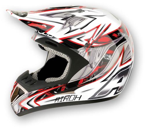 Airoh Runner Spartan off-road helmet red