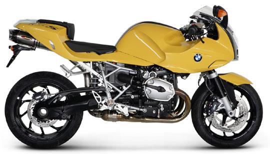 Akrapovic BMW R 1200 S Street Legal 06-09 Titanium
