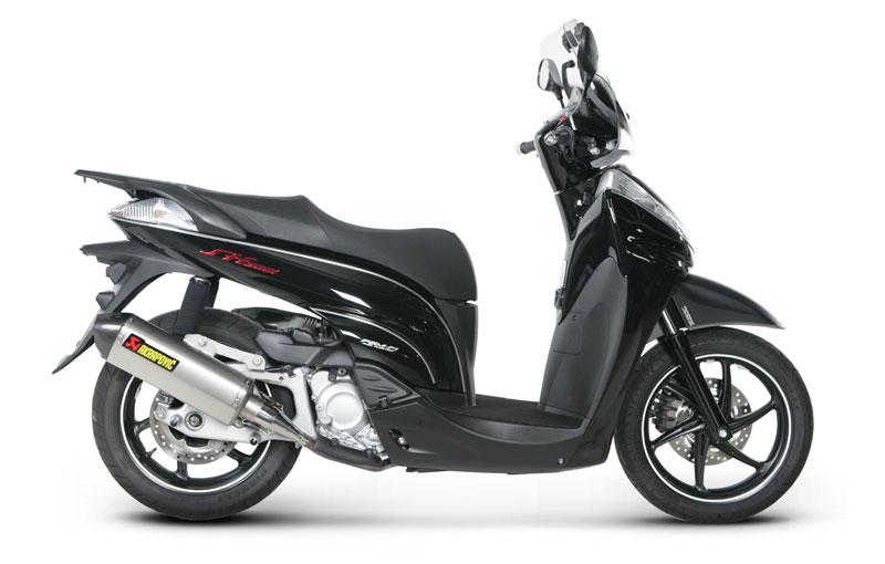 Akrapovic Street Legal Honda SH 300 Titanium