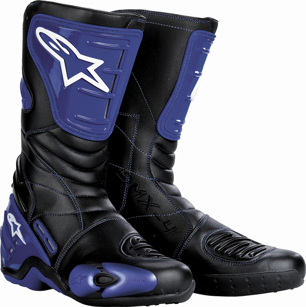 Alpinestars S-MX 4 boots blue