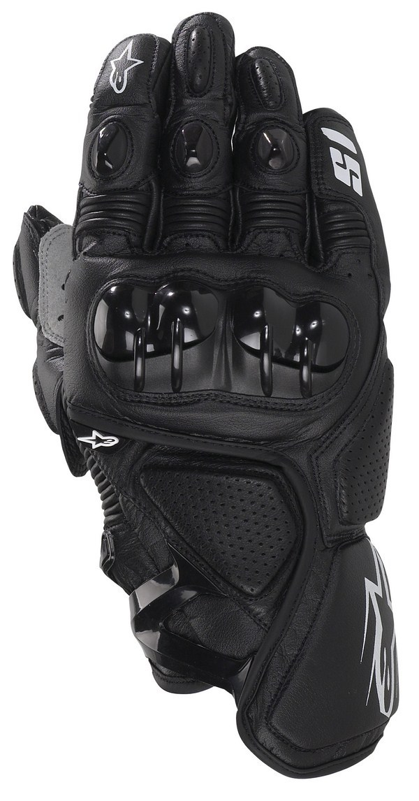 Alpinestars S-1 leather gloves black