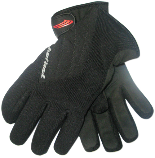 Befast SALT winter gloves Black