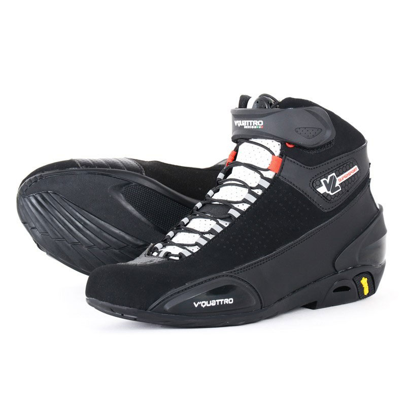 Scarpe moto VQuattro Supersport Vented Nero