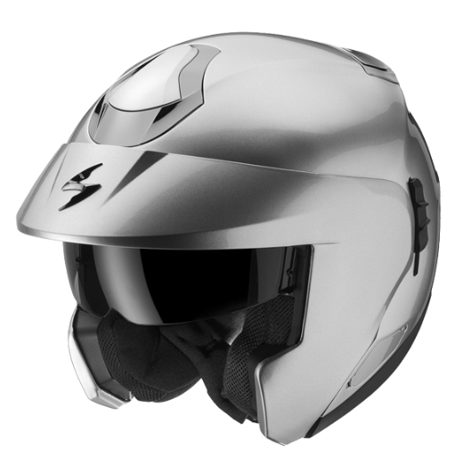 Scorpion EXO 900 AIR flip off helmet White