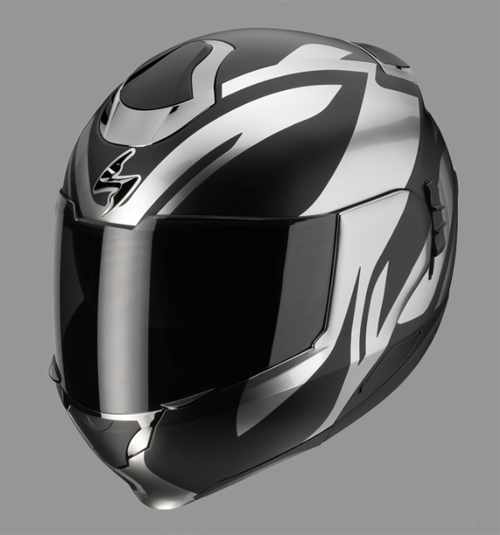 Casco modulare Scorpion EXO 900 Air VIRTUOSE Nero-Cromo