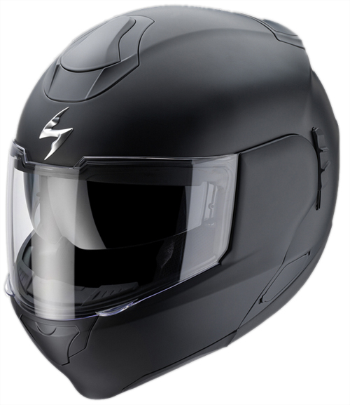 Scorpion EXO 900 AIR flip off helmet Matt Black
