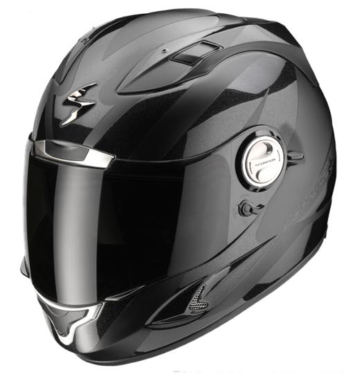 Casco moto integrale Scorpion EXO 1000 TWISTER Nero