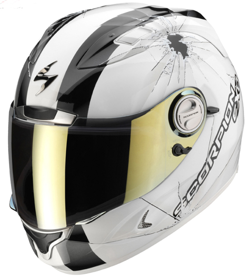 Scorpion EXO 1000 AIR HI-IMPACT full face helmet White-Black