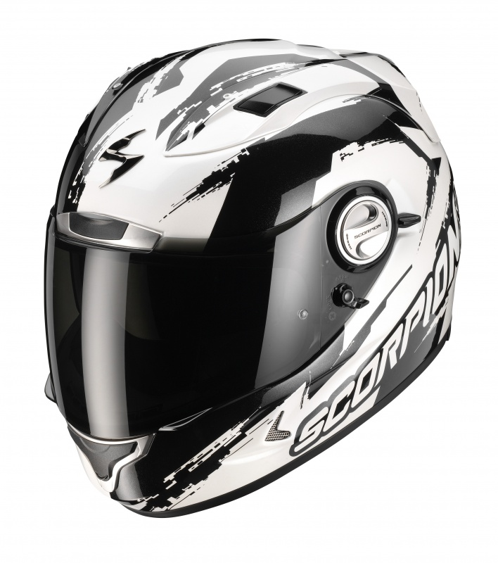 Casco integrale Scorpion EXO 1000 AIR MILAN BiancoPerla-Nero