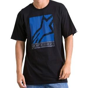 T-shirt Youth Scribble Box Alpinestars Black
