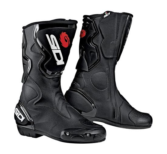 SIDI Fusion Racing Boots - Col. Black