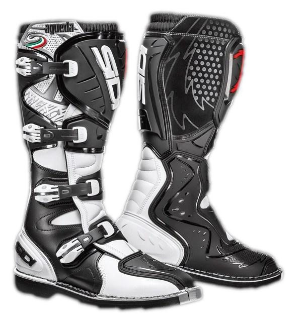 Sidi Agueda Off-road boots white-black
