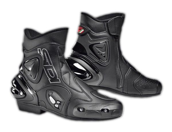 Sidi Apex touring boots black-black