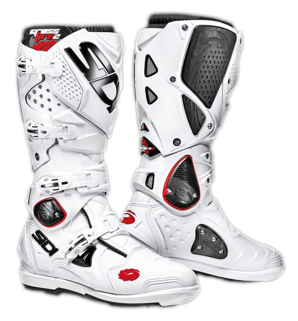 Stivali moto cross Sidi Crossfire 2 SRS bianco-bianco