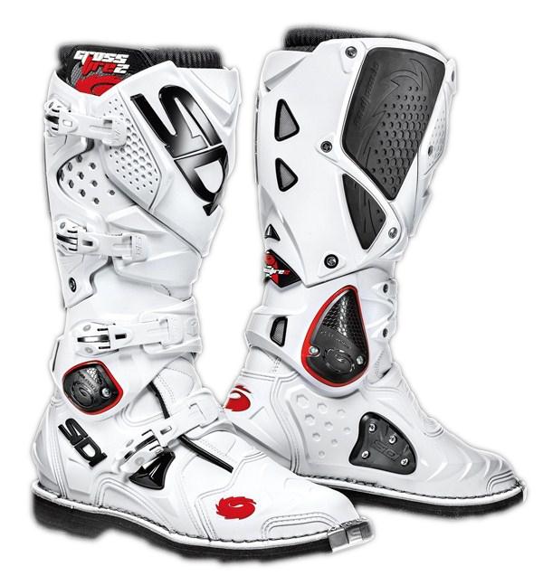 Stivali moto cross Sidi Crossfire 2 bianco-bianco