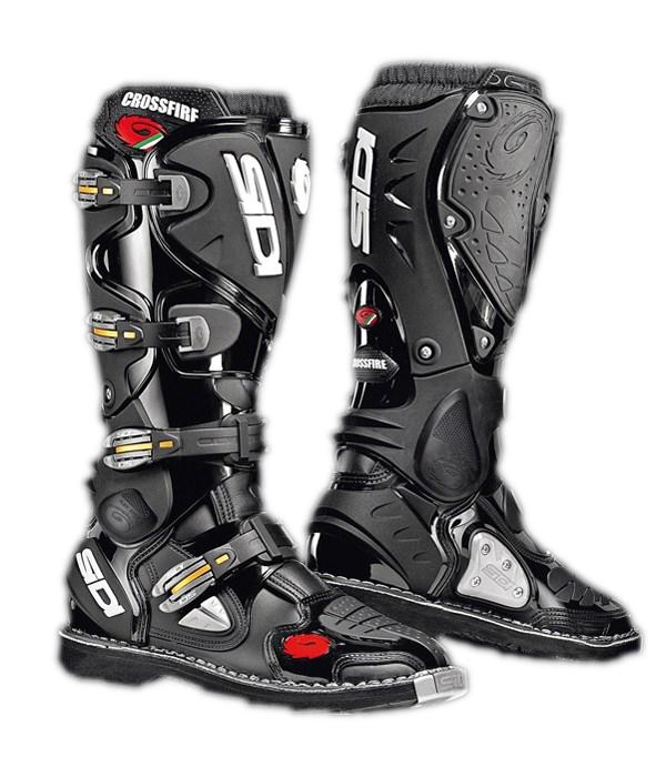 Sidi Crossfire offroad boots black