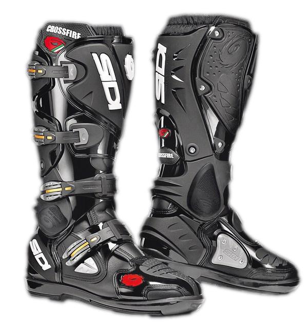 Sidi Crossfire SRS offroad boots black