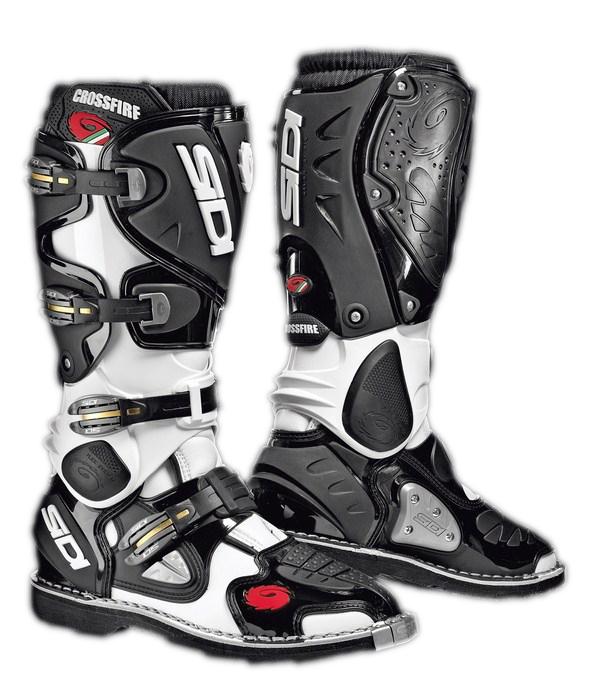 Sidi Crossfire offroad boots white-black