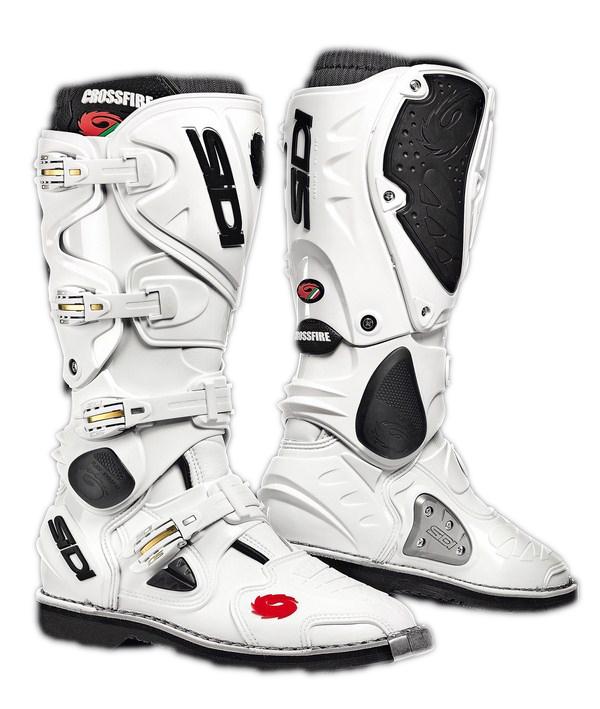 Sidi Crossfire offroad boots white