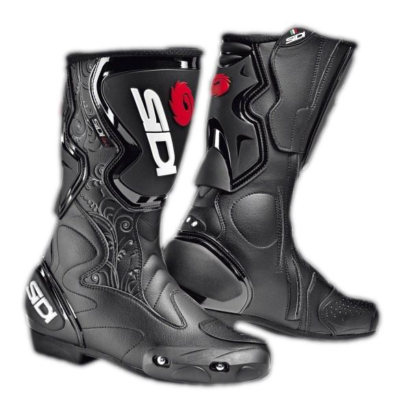 Stivali moto racing donna Sidi Fusion Lei nero-neri
