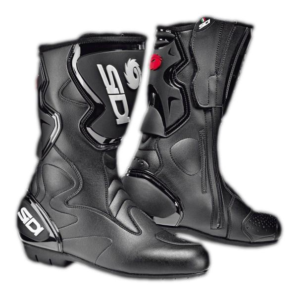 Stivali moto racing Sidi Fusion Rain neri-neri