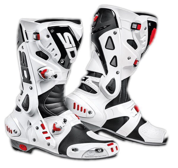 Sidi Vortice racing boots black-white