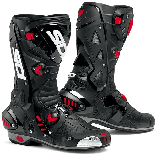 SIDI Vortice Air Racing Boots - Col. Black