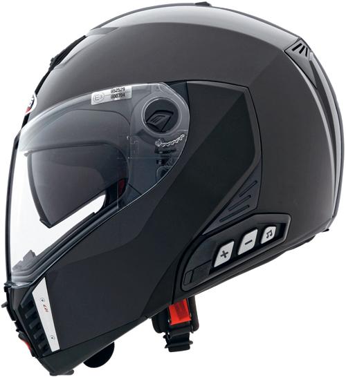 CABERG Sintesi flip-up helmet col. metal black