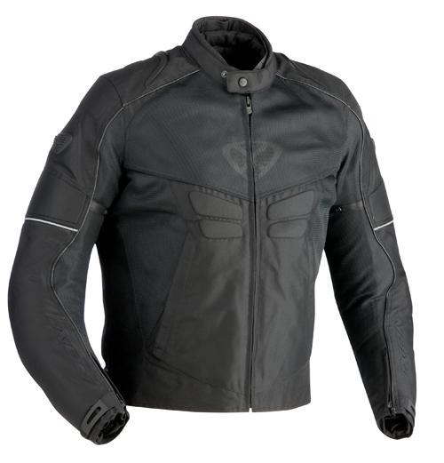 Giubbotto moto Ixon Sismic Sport adatto a tutte le stagioni nero