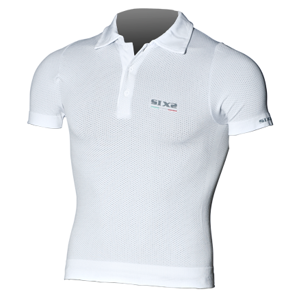 Sixs short sleeved polo White