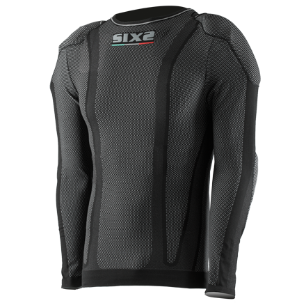 Sixs long sleeved shirt with protections predisposition