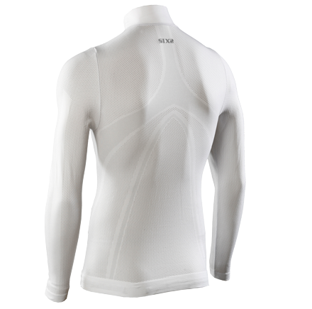 Sixs long sleeved turtleneck White