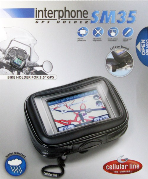 Cellular Line waterproof navigator holder for devices up to 3.5'