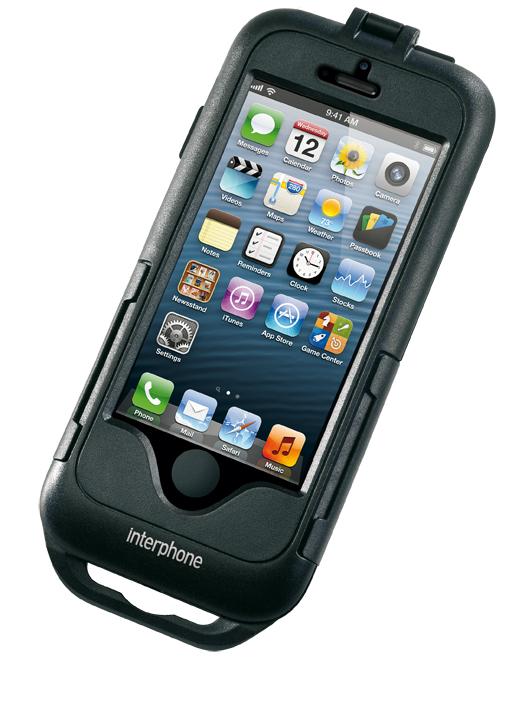Custodia impermeabile per iPhone 5 per moto Cellular Line