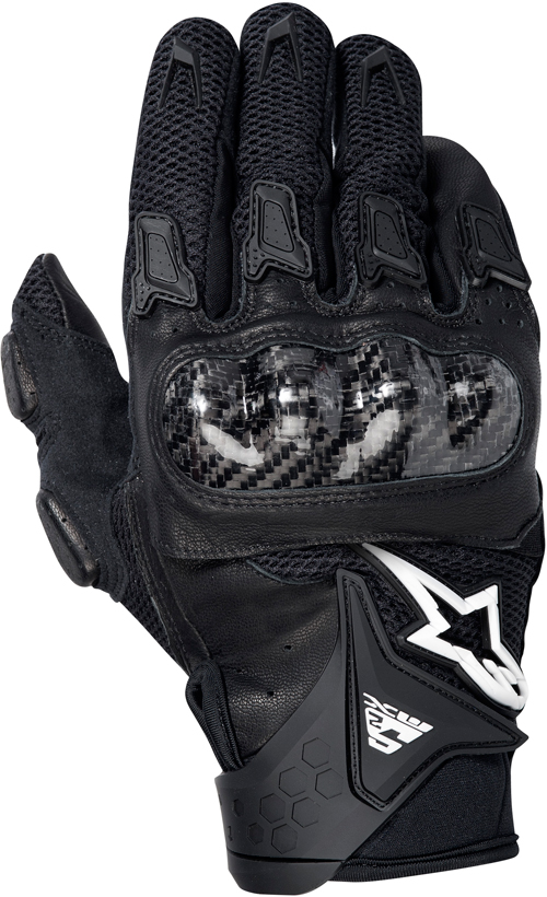 Alpinestars SMX-2 Air Carbon motorcycle gloves black