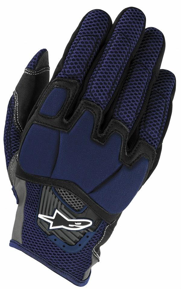 Alpinestars S-MX cross gloves blue