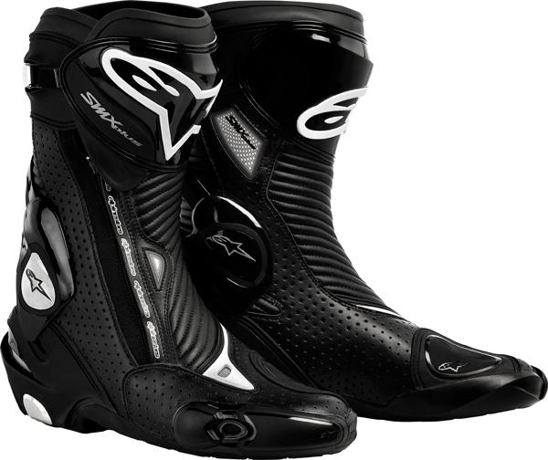 Stivali moto Alpinestars SMX Plus nero ventilati
