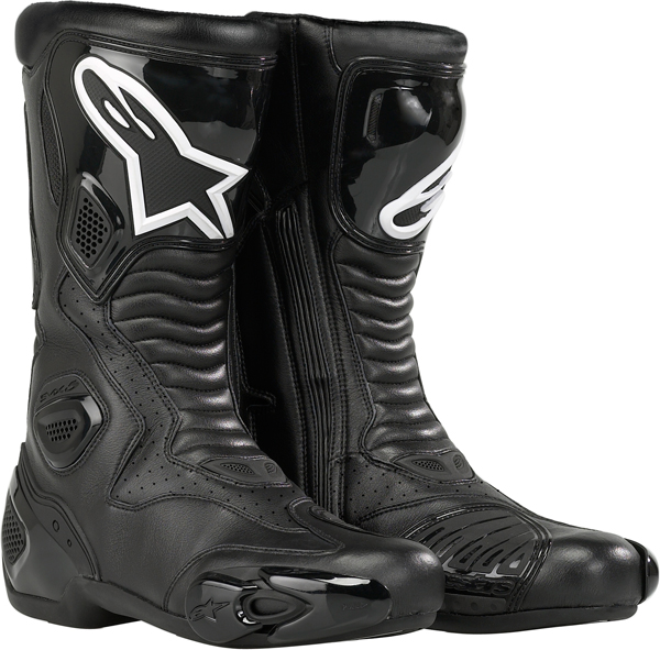 ALPINESTARS S-MX 5 racing boots black vented