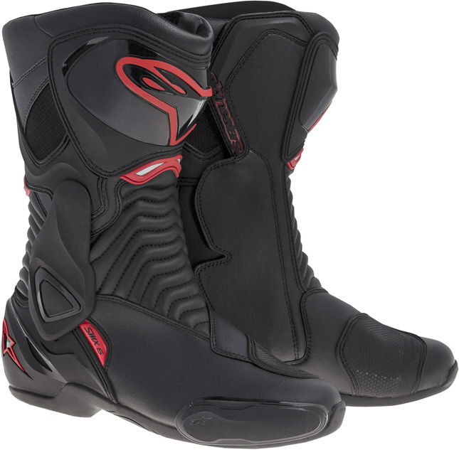 Alpinestars SMX 6 racing boots black-red